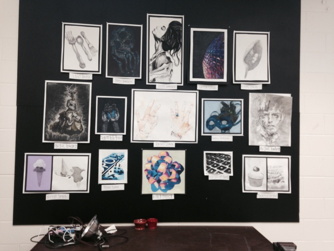AP work on display