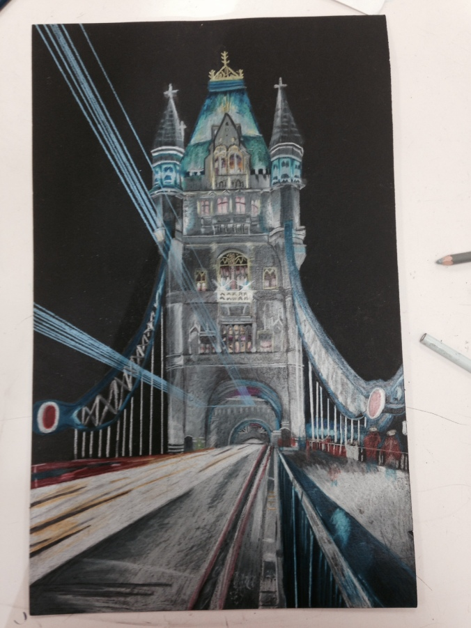 Ortega's Tower Bridge is coming along so beautifully!