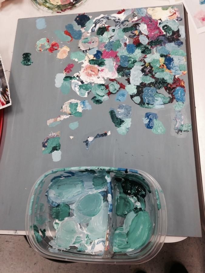 Caroline's painting!